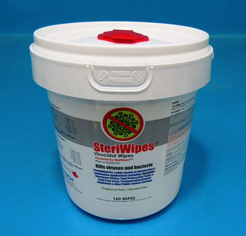 SteriWipes - Quaternary Ammonium Surface Disinfecting Wipes